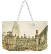 Gateway To The Close, Salisbury Weekender Tote Bag