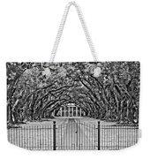 Gateway To The Old South Bw Weekender Tote Bag by Steve Harrington