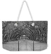 Gateway To The Old South Monochrome Weekender Tote Bag by Steve Harrington