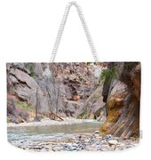 Gateway To The Zion Narrows Weekender Tote Bag