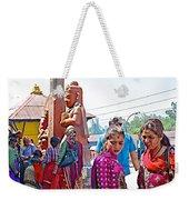 Gathering At Hindu Festival Of Ram Nawami In Kathmandu-nepal Weekender Tote Bag