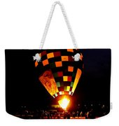 Gathering For Night Glow Weekender Tote Bag