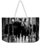 Gathering Of Moose Weekender Tote Bag by Bob Orsillo