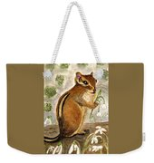 Gathering Snowdrops Weekender Tote Bag