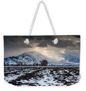 Gathering Winter Storm - Utah Valley Weekender Tote Bag
