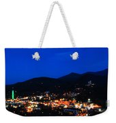 Gatlinburg Skyline At Night Weekender Tote Bag
