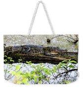 Gator Camoflage Weekender Tote Bag