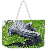 Gator In The Grass Weekender Tote Bag