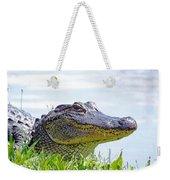 Gator Smile Weekender Tote Bag