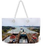 Gatun Locks Panama Canal Weekender Tote Bag