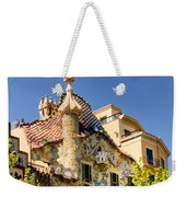 Gaudi Apartment Weekender Tote Bag