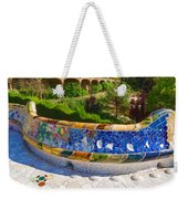 Gaudi's Park Guell - Impressions Of Barcelona Weekender Tote Bag