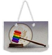 Gay Marriage Weekender Tote Bag