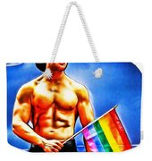 Gay Pride Weekender Tote Bag