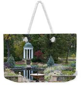 Gazebo Garden 3 Weekender Tote Bag
