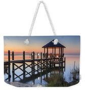 Gently - Gazebo On The Sound Outer Banks North Carolina Weekender Tote Bag
