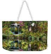 Gazebo Retreat Weekender Tote Bag
