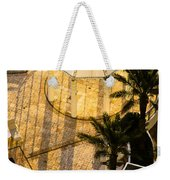 Gazebo Shadow Lines Weekender Tote Bag