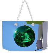 Gazing Ball Weekender Tote Bag
