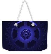 Gear - Cog Wheel Weekender Tote Bag by Michal Boubin
