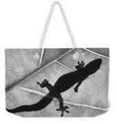 Gecko Shadow Weekender Tote Bag