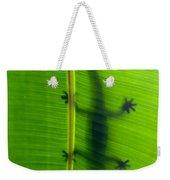 Gecko Silhouette Weekender Tote Bag