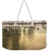Geese On Golden Pond Weekender Tote Bag