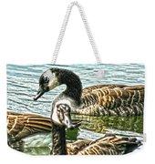 Geese On The Pond II Weekender Tote Bag