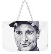 Gehrig Weekender Tote Bag