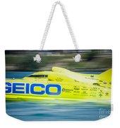 Geico Off Shore Racing Weekender Tote Bag