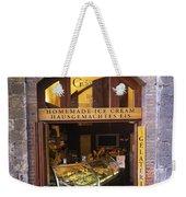 Gelateria Siena Weekender Tote Bag