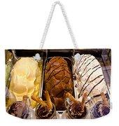 Gelato Choices Hmmmm Weekender Tote Bag