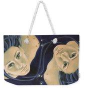 Gemini From Zodiac Series Weekender Tote Bag