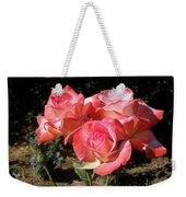 Gemini Tea Rose Weekender Tote Bag
