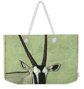 Gemsbok Weekender Tote Bag by James W Johnson