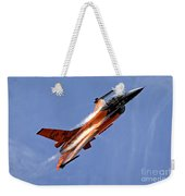 General Dynamics F-16am Fighting Falcon Weekender Tote Bag