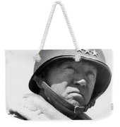 General George Patton Weekender Tote Bag by War Is Hell Store