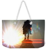 General In Sunrise Flares Weekender Tote Bag