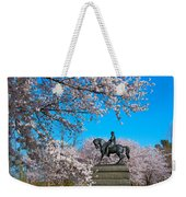 General In The Cherry Blossoms Weekender Tote Bag