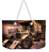 General Motors K-16 Ambulance Weekender Tote Bag