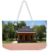 General Store At Historical Park Weekender Tote Bag