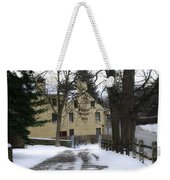 General Wayne Inn In Winter Weekender Tote Bag