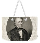 General Zachary Taylor, From The History Of The United States, Vol. II, By Charles Mackay, Engraved Weekender Tote Bag