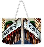 Genius Weekender Tote Bag