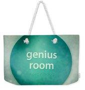 Genius Room Weekender Tote Bag