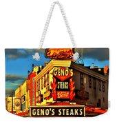 Geno's Weekender Tote Bag