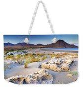 Genoveses Beach At Sunset Weekender Tote Bag