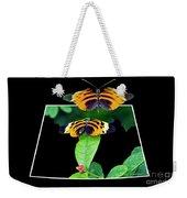 Gentle Butterfly Courtship 01 Out Of Bounds Weekender Tote Bag