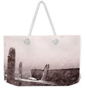 Gentle Current Weekender Tote Bag