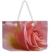 Gentle Pink Rose Weekender Tote Bag